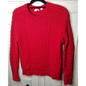 Cherry Red GAP Cotton Sweater